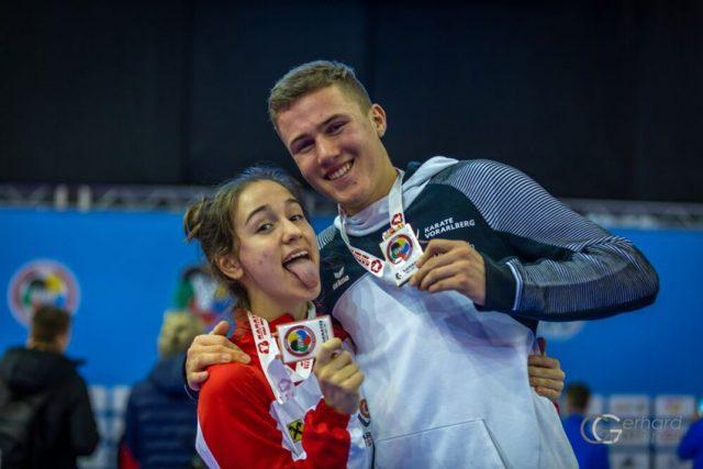 WKF Youth League | Medaillenset | Aleksandra Grujic | WKF Turnier | Italien Jesolo