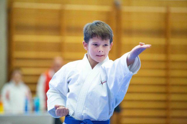 Milon Cup | Karate Austria | David Nussbaumer | Kategorie U14 | Silbermedaille