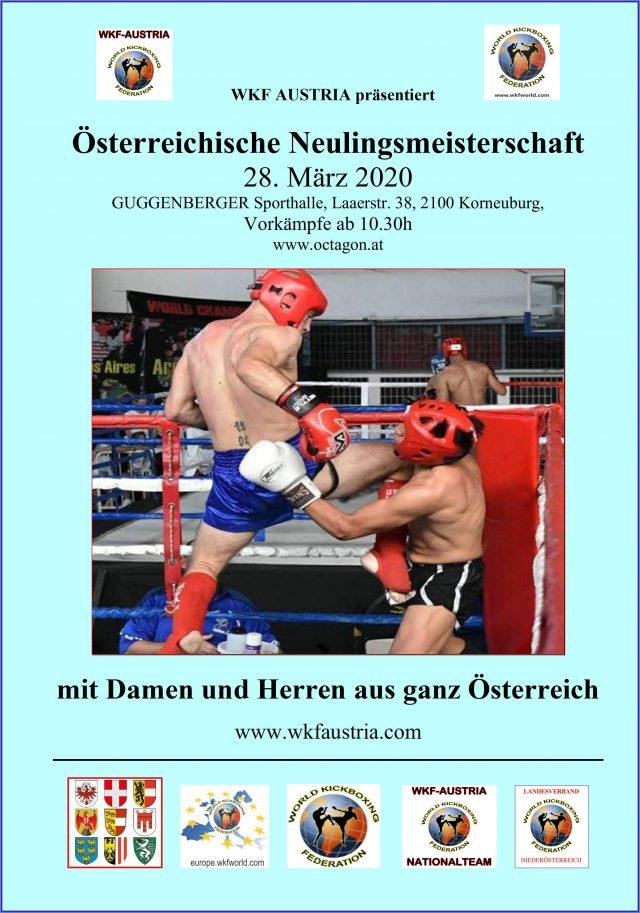 ÖM Neulingsmeisterschaften | WKF Austria | Ringsport Sport Turnier | Damen und Herren Wettbewerbe | Franz Guggenbergerhalle Korneuburg