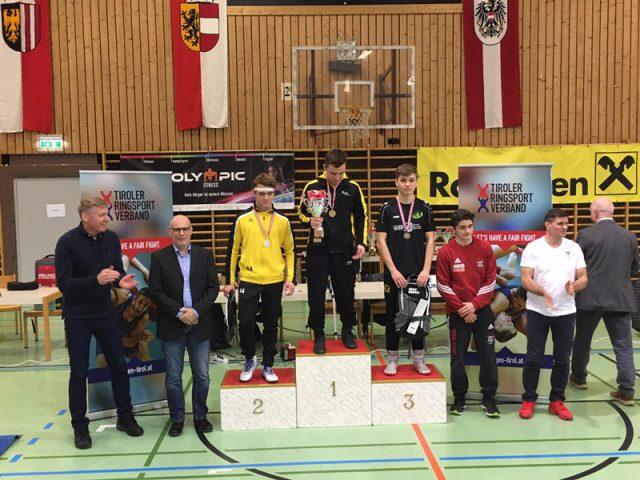 Österreichische Meisterschaften | Ringen | KSV Söding | Bronze | Marcel Schmer Sterf