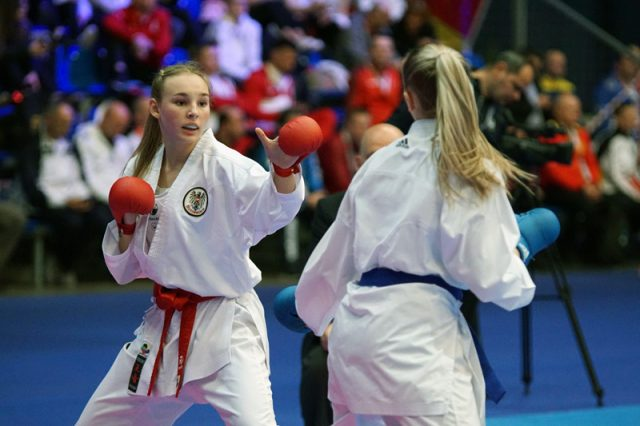 Hana Devigili | EKF Europa Meisterschaft | Karate Austria | Kampf um Bronze