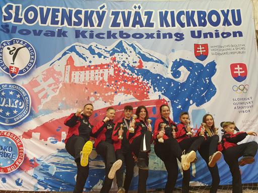 kbc Rohrbach | Medaillenregen | Slovak Open 2020 | WAKO Kickbox Turnament