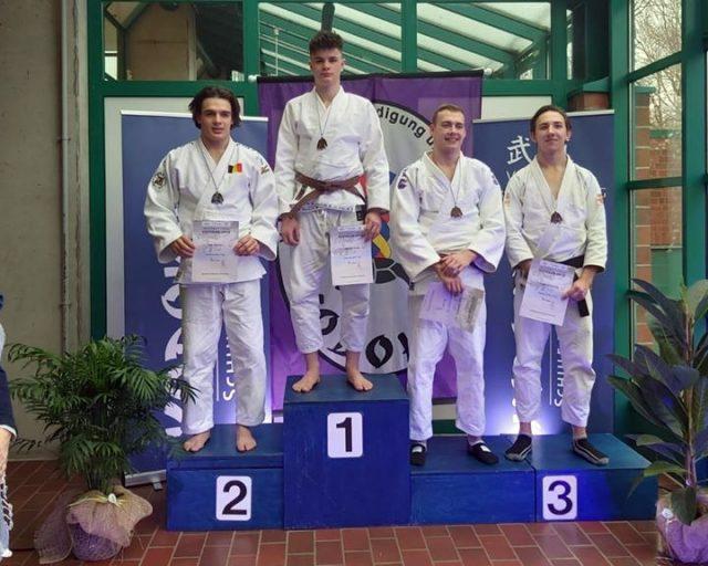 Kodokan Open | Hamburg | Podest | Matthias Weisz | Jiu Jitsu Verband Österreich
