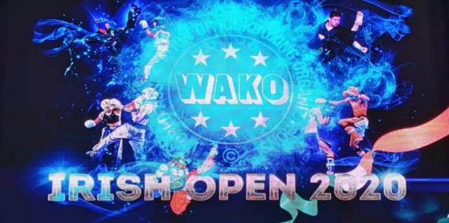 WAKO | Kickboxing | Championship | Turnament | Irish Open 2020