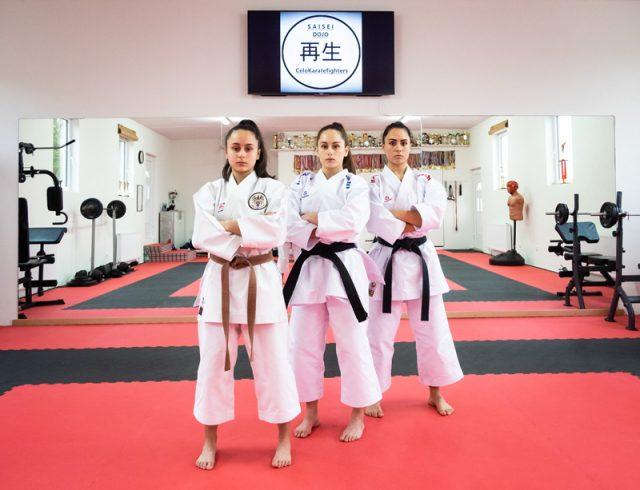Die Celo Karatesistern Sima, Isra und Funda
