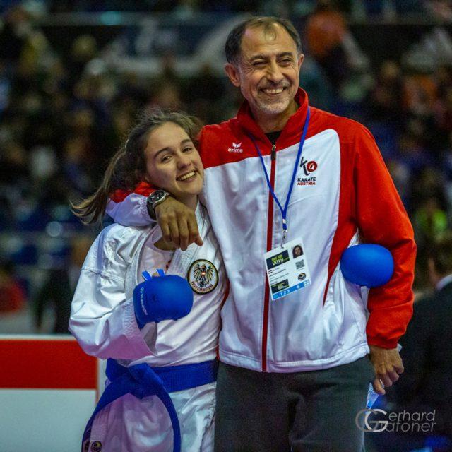 Aleksandra Grujic | Ex-Bundestrainer Dragan Leiler | Gold in Jesolo | Karate Tournament