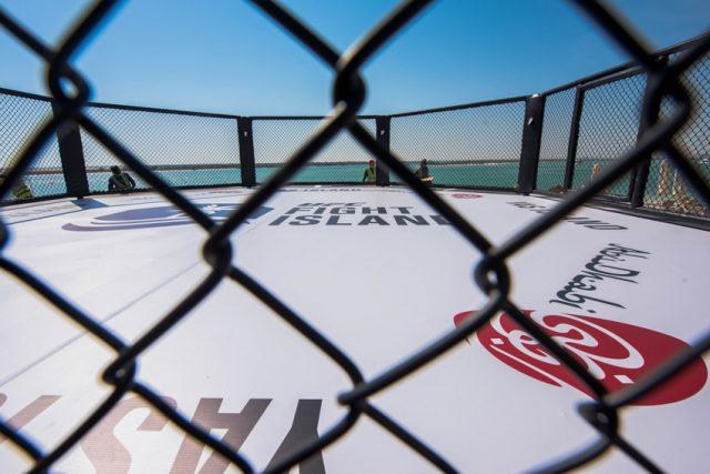 Strand Octagon | Fight Island | Abu Dhabi | UFC
